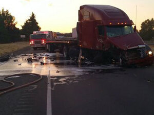 Police: DUI driver causes head-on crash on I-5