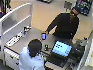 Man suspected of robbing pharmacy with his iPhone