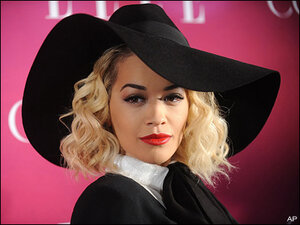Rita Ora kept forgetting her lines filming 'Fifty Shades'