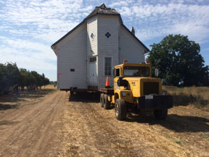 Historic church spared from demolition by fire