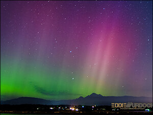 Photos: Northern Lights come out over Western Washington