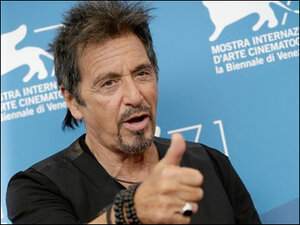 Pacino does double duty at Venice Film Festival