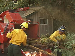 Defensible space takes 'fuel away from the fire to give a structure a better chance'
