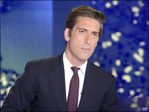 David Muir takes over at ABC's 'World News'
