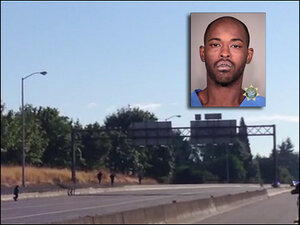 Police shoot man suspected of attempted carjackings on I-84