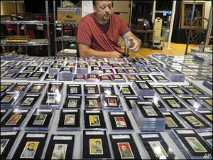 For sale: Century-old cards of Ty Cobb, Cy Young