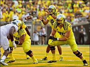 Oregon takes No. 2 slot in the AP Top 25