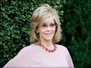 Jane Fonda gets personal at Rape Foundation brunch