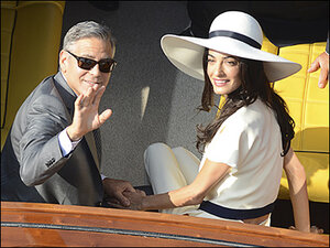 Clooney: 'Marriage feels pretty great'