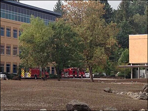 Chemical explosion in West Eugene sends person to the hospital