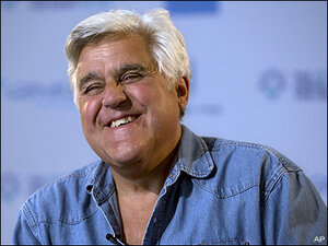 Comedians to honor Jay Leno with humor prize in DC