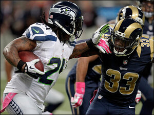 Gutsy call stifles Seahawks' rally in 28-26 loss to Rams