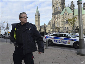 Police: Gunfire at Canadian parliament, soldier wounded