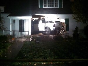 Police: DUII driver crashes truck into living room