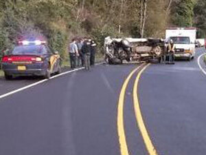 Police: Drunk driver kills man in head-on crash on Hwy 101