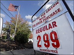 U.S. motorists stunned as gas falls under $3 nationwide