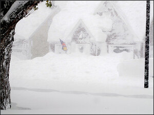 Parts of Buffalo area buried under 4-5 feet of lake-effect snow