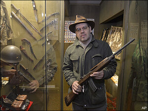 Washington's new gun law prompts museum to remove WWII rifles