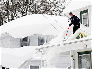Roofs collapse under 7+ feet of Buffalo snow