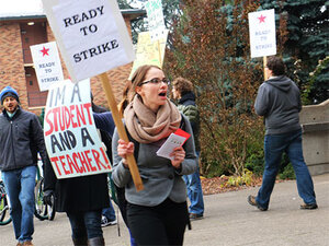 GTFs at UO: 'Do you have any questions about the possible strike?'