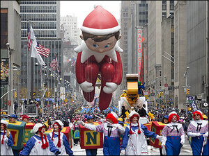Photos: Crowds celebrate at Macy's Thanksgiving Day Parade