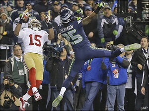 Seahawks, others provide lots of eye candy for sports fans in 2014