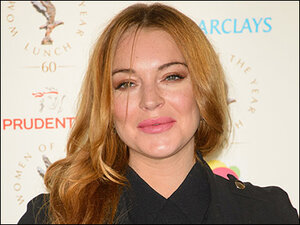 Lindsay Lohan on course to complete community service in time