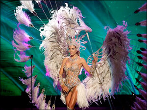 Photos: Flashy costumes at Miss Universe Competition