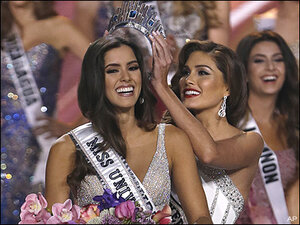 'She's a star': Miss Colombia crowned Miss Universe in Miami