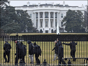 Small drone crashes at White House complex, origin unclear