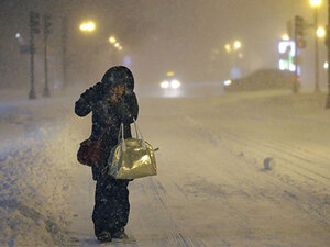 Blizzard conditions in parts of Northeast: 'We expected a lot more'