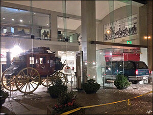 Gold nuggets stolen from Wells Fargo museum display