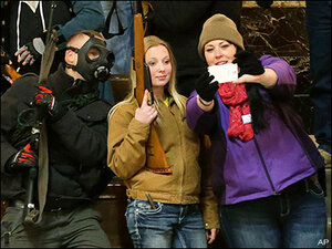 Openly carried guns now banned in Olympia public hearings