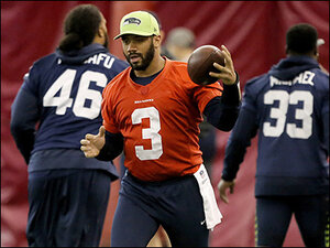 Photos: Seahawks get in some final practices before big game