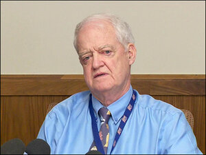 Sen. Peter Courtney asks Kitzhaber to resign - news conference