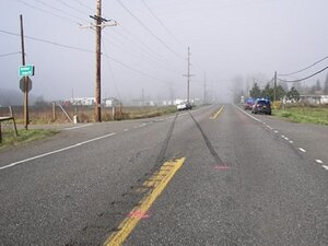 Roseburg teen killed after being struck by pick-up on Hwy 42