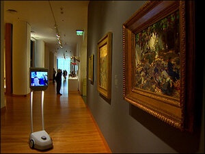 Robot allows those who can't visit to take virtual tour of Seattle Art Museum