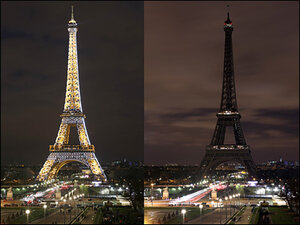 Photos: Landmarks go dark for 'Earth Hour'