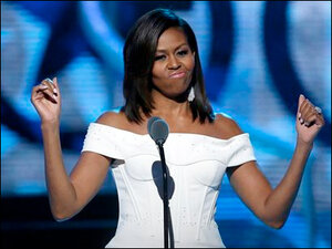 Michelle Obama declares 'Black Girls Rock!'