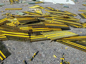 Idaho sheriff: 'There's a load of nails on the road'