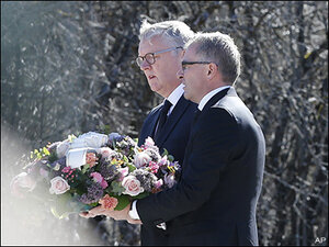 Lufthansa CEO at crash site: 'Long, long time' to understand