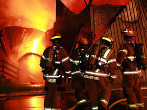 PHOTOS: South Albany High School fire