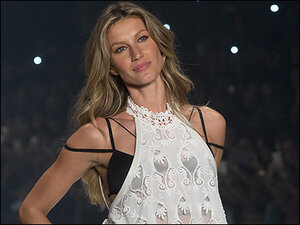Photos: Supermodel Gisele takes her last stroll down the catwalk