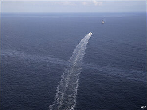 Secrecy shrouds decade-old oil spill in Gulf of Mexico
