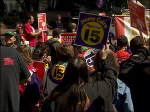 Activist group files ballot measure for $15 minimum wage