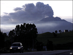 Chilean village a ghost town after volcano's twin eruptions