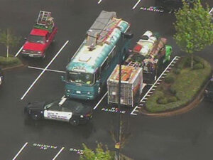 Shootout and standoff outside Walmart in Salem