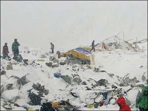 Most local-based Everest teams accounted for after big avalanche