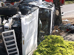 Driver cited after SUV crash in Springfield