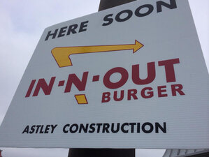 In-N-Out 'Here Soon' sign in Eugene a hoax